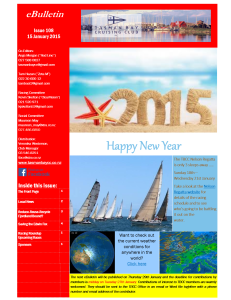 Front page TBCC eBulletin 108 15Jan15