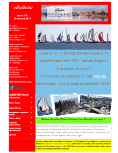 Front page TBCC eBulletin 109 29Jan15