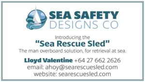 A big welcome to our new sponsor - Lloyd Valentine from Sea Safety Designs, participate in the First National Nelson Regatta 2018 and be in to win one of Lloyd's Sea Rescue Sleds!