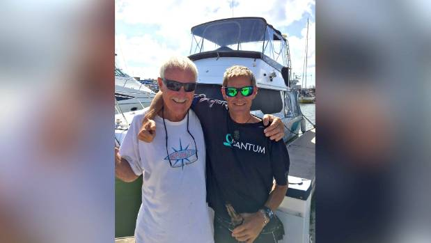 Even though Malcolm Dickson's son beat him in the Solo Trans-Tasman Yacht Race he's still a winner as he designed and built the winning boat.